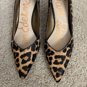 Sam Edelman leopard print shoes 👠